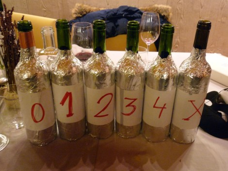 """Los vinos del """"0"""" al """"X""""."""