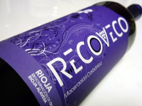 La botella de Recoveco Maceración Carbónica 2015.