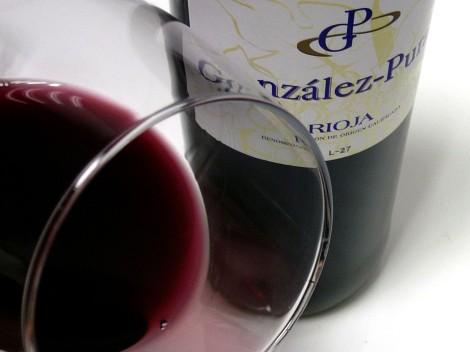 Detalle del vino González Puras Maceración Carbónica.