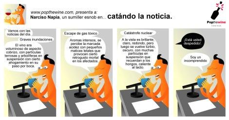 Narciso Napia en: Catando la Noticia.