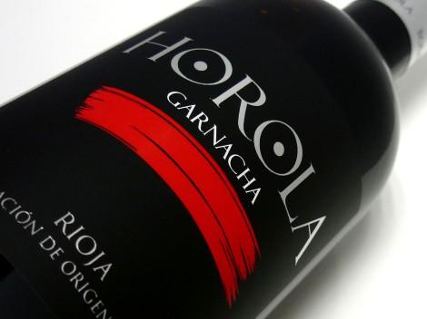 Etiquetado de Horola Garnacha 2014.