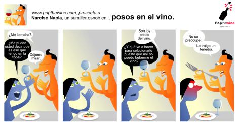 Narciso Napia en: Posos en el vino.