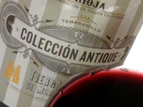 Detalle del vino Colección Antique Nº1.