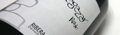 Etiqueta del vino Vegazar Tinto Roble.
