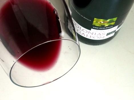 Detalle del vino Colonias de Galeón Maceración Carbónica.