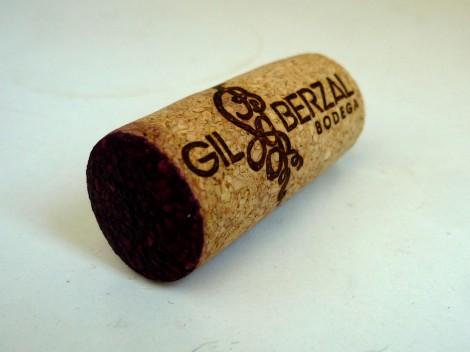 Tapón de corcho del vino Recoveco Edición Limitada.