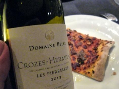 Domaine Belle Les Pierrelles 2013, el Crozes-Hermitage.