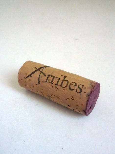 Detalle del tapón de corcho del vino Abadengo Reserva.