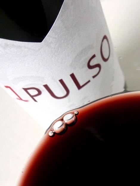 Detalle del vino 1 Pulso 2011.