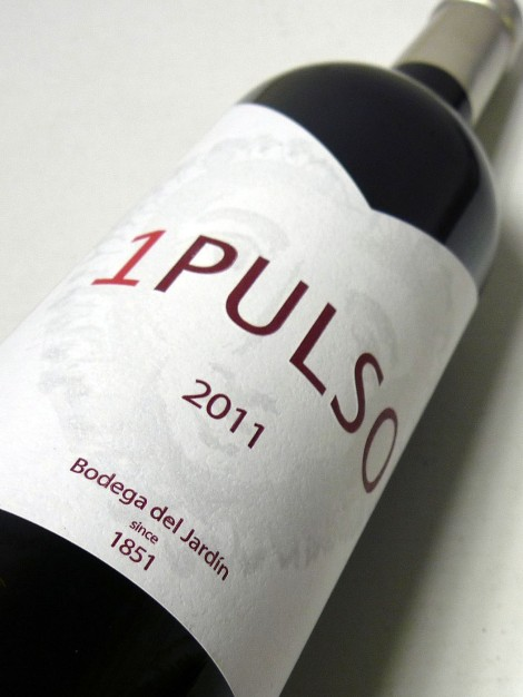 Etiqueta del vino 1 Pulso.