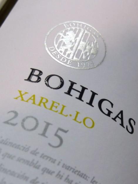 Bohigas Xarel·lo 2015.