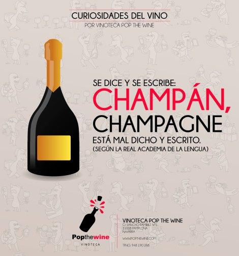 ¿Se dice champán o champagne?.