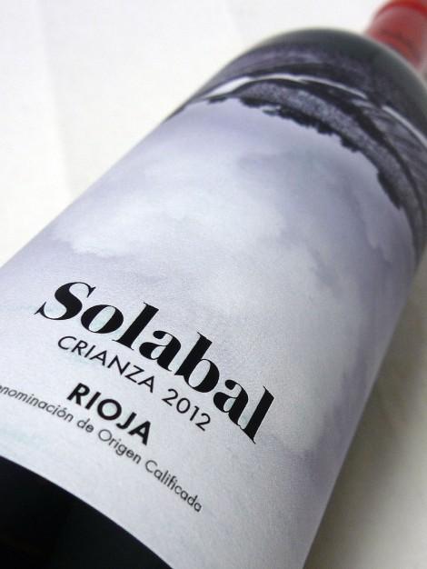 Etiquetado de Solabal Crianza.