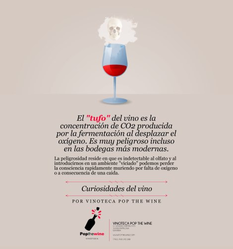 ¿Qué es el tufo del vino?.