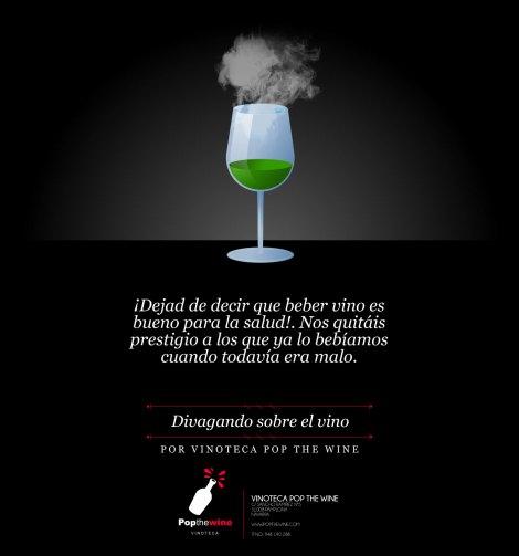 Divagando sobre el vino.