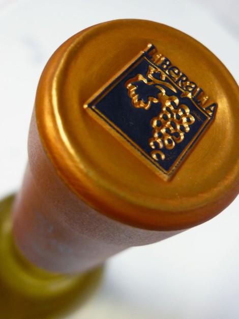 Cápsula del vino Liberalia Uno.