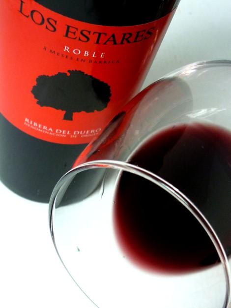El Ribete del vino de Los Estares.