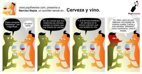 Narciso Napia en: Cerveza y vino.