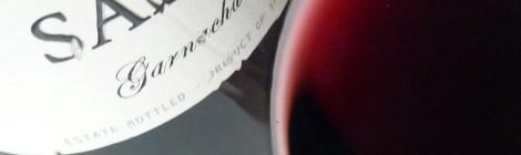 Detalle del vino Palacio de Sada 2014 en la copa.