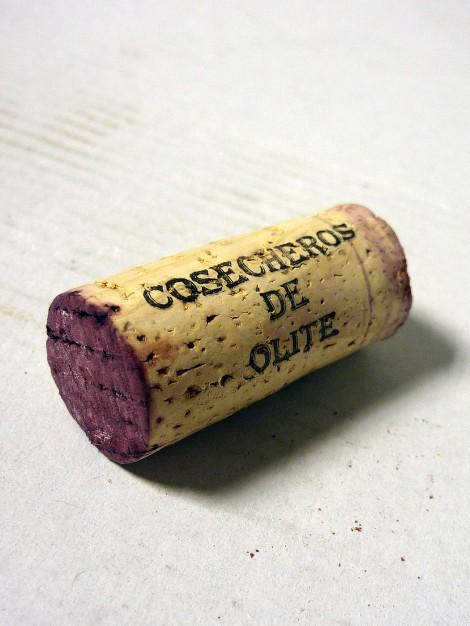Tapón de corcho del vino Secretum Leonaridi Tinto.