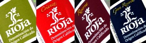 Sellos de la D.O.Ca. Rioja.