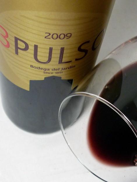 Detalle del vino 3 Pulso en la copa.