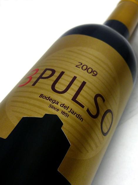 Etiquetado de la botella de 3 Pulso.