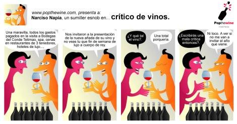 Narciso Napia en: Crítico de vinos.