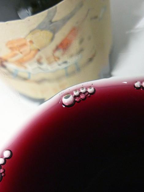 El color del vino Serè.
