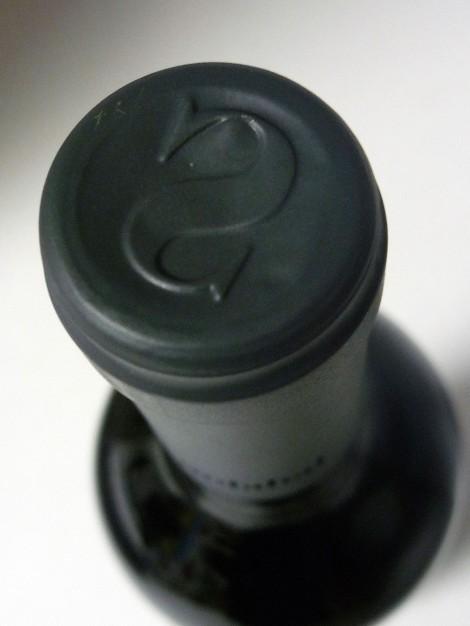 La cápsula del vino Solabal Reserva.