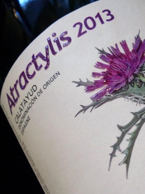 El vino Atractylis en su añada 2013.