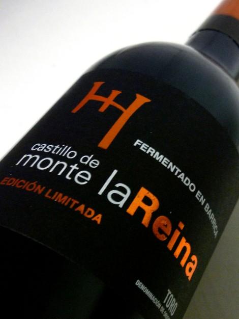 Etiquetado del vino Castillo de Monte la Reina Edición Limitada.