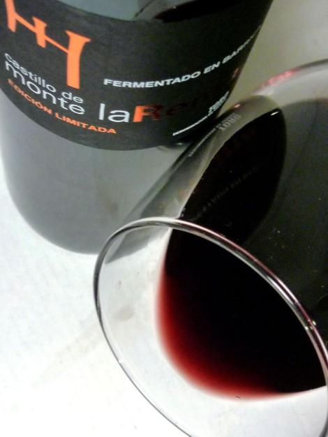 El ribete del vino Castillo de Monte la Reina Edición Limitada.