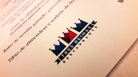 Logotipo del Restaurante Tres Reinas.