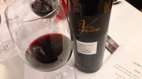 El vino Viña Juguera Etiqueta Negra.