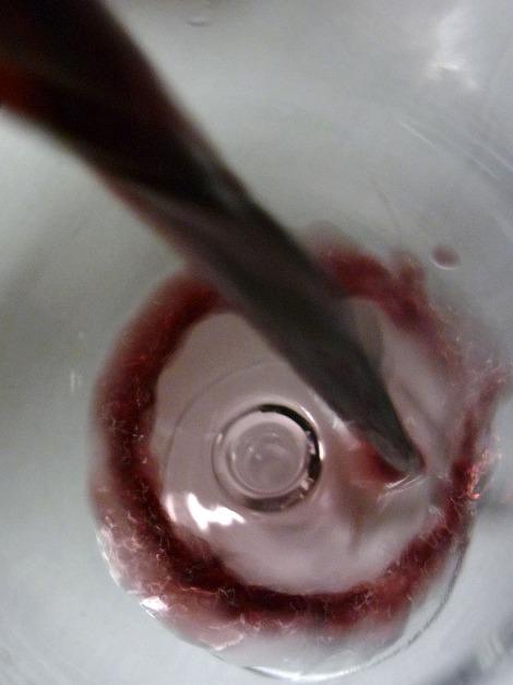 Mod de Matamangos siendo servido en la copa.