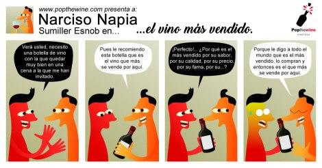 Narciso Napia en el vino más vendido.
