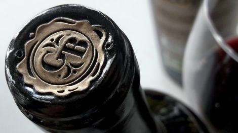 Detalle de la cápsula del vino Recoveco Colección Privado.