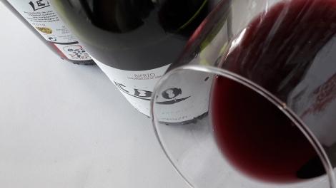 El ribete del vino Ledo.8 Crianza