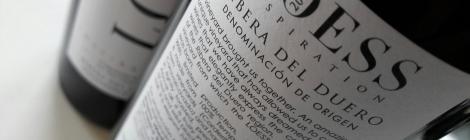 Contra-etiqueta del vino Loess Inspiration.