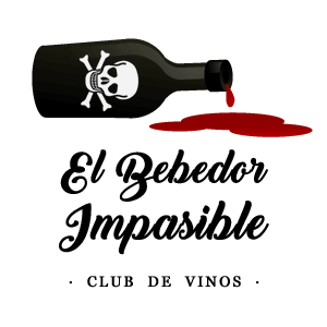 Logotipo club de vinos el bebedor impasible
