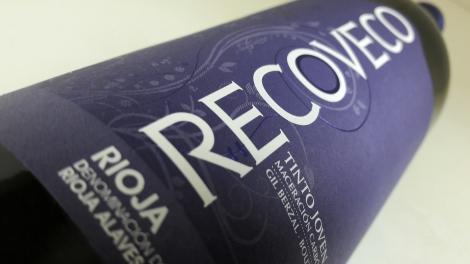 Etiquetado del vino Recoveco Maceración Carbónica.