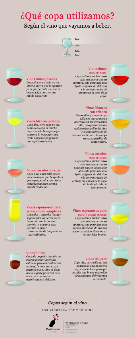 ¿Qué copa de vino utilizar?.