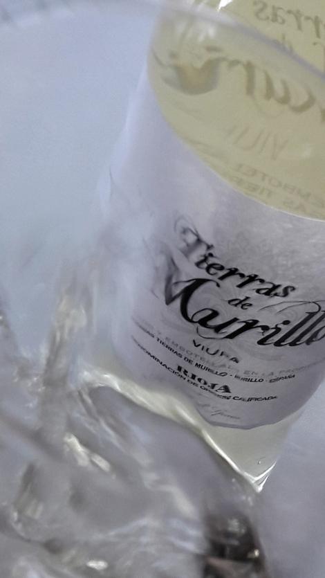 Detalle del vino Tierras de Murillo Viura.