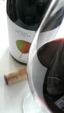 El vino y la copa... Batán de Salas Syrah.