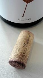 Tapón del vino Batán de Salas Syrah.