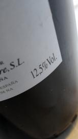 12,5% Vol. contiene este vino.