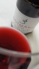 Detalle de color del vino Guímaro.