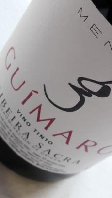 Etiqueta de Guímaro Tinto.