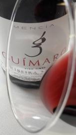 El ribete del vino Guímaro.